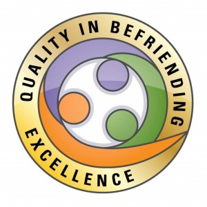 logo for the Excellence Award for Quality in Befriending