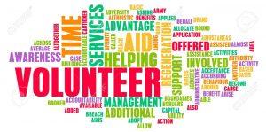 Volunteer words mural