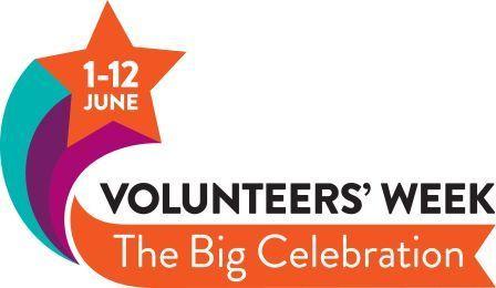 logo for Volunteers' Week - The Big Celebration