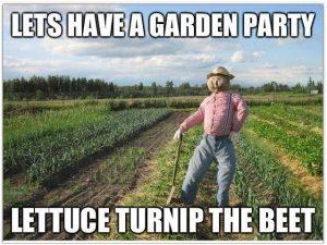 funny gardening meme