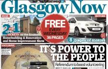 image of Glasgow Now front cover and link to the online version Wed 17 Sept 2014