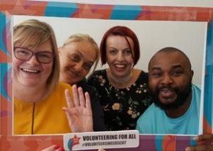 photo of the WelcomeTeam for Volunteers Week 2018