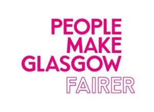 logo for People Make Glasgow Fairer
