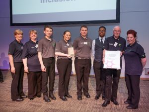 photo-of-Police-Scotland-Youth-Volunteers-receiving-their-Inspire-Award-for-Commitment-to-Diversity-and-Inclusion