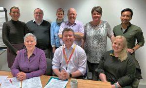 photo of Volunteer Glasgow Trustees-Directors Nov 2019
